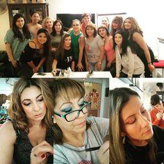 Curso de maquillaje social  la semana  pasada trabajamos pigmentos y técnicas de eye liner #solecester #maquillaje #fantasy #profesionalmakeup #barcelona #instagood #instalike