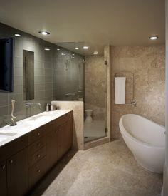 A very modern bathroom