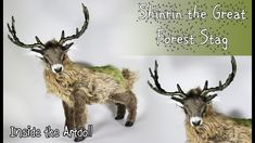 Shinrin the Great Forest Stag - Artdoll