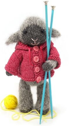 Mejores proyectos de punto del 2012  / Best knitted projects of 2012 / http://blog.fuzzymitten.com/2012/01/missing-you.html