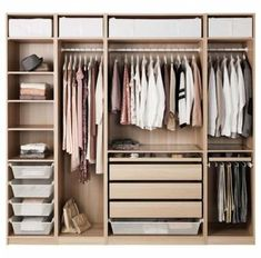 70 Super Ideas For Bedroom Wardrobe Design Ideas Ikea Pax