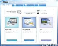 I-NEED - Mobile File Transfer  Android App - playslack.com , Smart Tool offers a convenient function such as file transfer through linkage between PC and mobile terminal.[Main function] - File Transfer / Automatic Login / SMS Management■ File Transfer 1. USB Cable NO! The program for mobile terminal? NO! 2. The fast transfer of multi-file? OK! - When you transfers multi-file, It's more fast than S/W 3. If It's not connected directly, It's ok by way of server 4. When you transfers file, It…