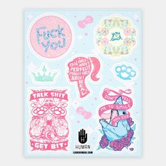 Sassy Stickers | Stickers, Sticker Sheets and Vinyl Stickers | HUMAN