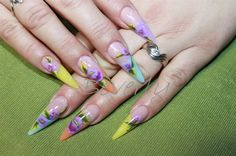 Easter stiletto - Nail Art Gallery
