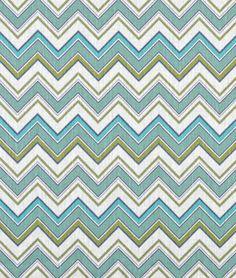 Avalon Turquoise on Ivory Fabric - $31.35 | onlinefabricstore.net