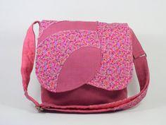 Sacoche pour fillette Sac à bandoulière rose Sac messager pour enfant de la boutique Mafelou sur Etsy