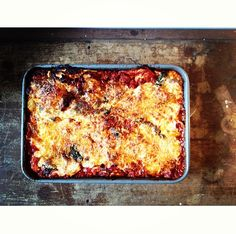 today in ACE/THINGS :: The Lasagna I Make
