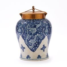 Large Decorative Urns And Vases Blue And White Large Jar  Blue & White  Pinterest  Jar