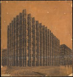 Scary architecture: The early works of Hans Poelzig | The Charnel-House
