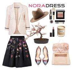 """Noradress"" by noradress-it ❤ liked on Polyvore featuring Ted Baker, Nearly Natural, Olfactive Studio, Bebe, UNIF, Bobbi Brown Cosmetics, Rimmel, rag & bone and noradress"