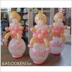 Ballonshop, ballonnenwinkel dendermonde, babyborrel aankleding, decoratie, heliumballonnen, ballondecoratie, ballonnen, www.kadooken.be