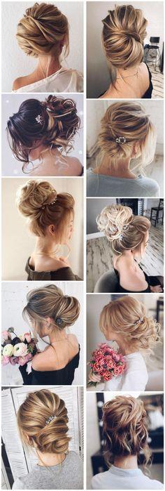 Trends Wedding Hairstyles : Tonyastylist Wedding Updo Hairstyles for Bride #weddings #updos #wedidngideas #w