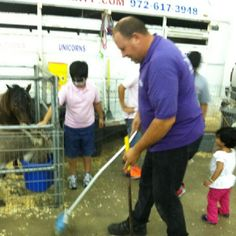 Our petting zoos are kept clean and safe at all times. Indoors or outdoors we can accommodate. A One of a Kind Pony Party.com 972-617-3948.