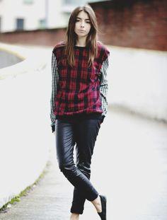 #tartan #checks #fashion #outfit