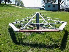 school merry go round   Old School Merry Go Round Playground Structure   eBay