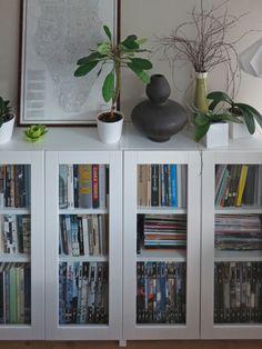 estanterías Billy con puertas de vidrio Grytnas | IKEA Los hackers