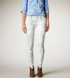 AE Floral Jegging   American Eagle Outfitters