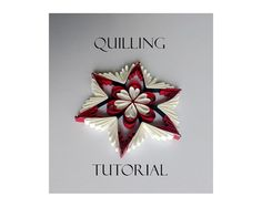Quilling pattern / tutorial / how to QD8 PDF von Quillings4U