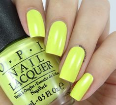 OPI Life Gave Me Lemons | #EssentialBeautySwatches | BeautyBay.com