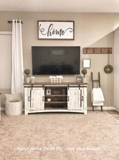 Living Room Ideas with Tv Beautiful Farmhouse Tv Stand Decor Dream Home – Insp. - Living Room Ideas with Tv Beautiful Farmhouse Tv Stand Decor Dream Home – Inspirational Living Ro - Home Living, My Living Room, Small Living, Living Room Furniture, Rustic Furniture, Antique Furniture, Furniture Ideas, Modern Furniture, Outdoor Furniture