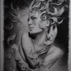 Imagine tatuar com esse cara!!!  Tattoo design by Carlos Torres **His eye for detail is unbelievable.