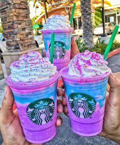 Starbucks anuncia Novo Frappuccino de Unicórnio Unicorn Frappuccino