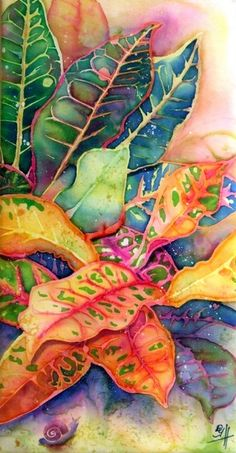Colorful Croton | deborah younglao