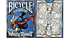 Bicycle White Rabbit Playing Cards available in South Africa - Bicycle Cart, Bicycle Deck, Playing Cards Shop, Bicycle Playing Cards, Play Your Cards Right, Street Magic, White Rabbits, Card Companies, Card Tricks