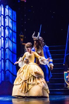 First Dance - Beauty and the Beast on Stage #stage #broadway #beautyandthebeast