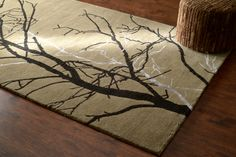 Rugs Usa Sierra Tree Branches Taupe Rug Labor Day Up To 80
