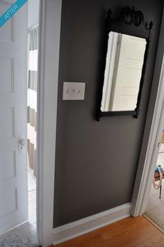 Martha Stewart paint -- Zinc Love this colour