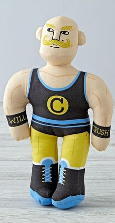 Pro wrestler dolls h