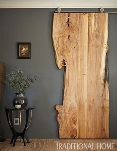 DIY Interior DIY Tür, Innenarchitektur Landscaping Ideas For the person who wants to give their gard Diy Casa, The Doors, Entry Doors, Patio Doors, Front Entry, Live Edge Wood, Design Case, Maine House, Diy Home