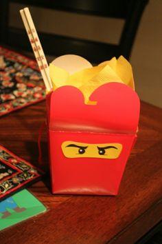 Lego Ninjago favour box
