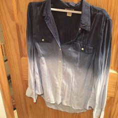 Lucky brand blouse New button up Lucky Brand Tops Blouses