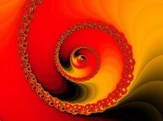 Fractales: una nueva geometría  Ampliación del conjunto de Mandelbrot  con otra paleta de colores.