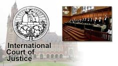 International Court of Justice- Has 15 judges that settle legal disputes between states and give advisory opinions to the rest of the UN International Court Of Justice, World Peace, World War I, Four Square, Judges, Organizations, Rest, Bucket, World War One