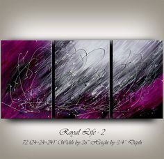 Hey, I found this really awesome Etsy listing at https://www.etsy.com/listing/186892958/purple-abstract-painting-original-modern