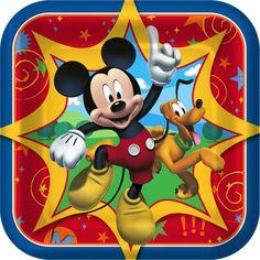 2.99..............Disney Mickey Fun and Friends Dessert Plates from BirthdayExpress.com