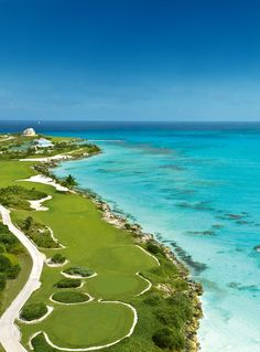 Sandals Emerald Bay - Great Exuma | Bahamas. Sun Sand and we lost many golf balls here! LOVE IT!!