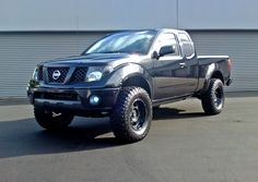 Nissan frontier blacked out / NISSAN Frontier
