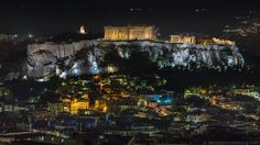Timelapse of the Acropolis of Athens, Greece during Earth Hour 2016. http://www.alexandrosmaragos.com | https://www.facebook.com/alexandrosmaragos