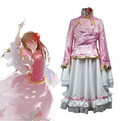 Axis Powers Hetalia APH Taiwan Cosplay Costumes Custom-made