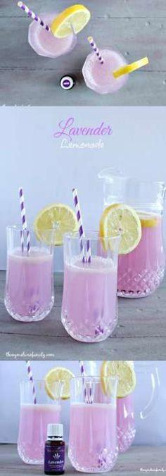 Lavender Lemonade is the perfect relaxing beverage.