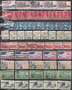 US # C63 -15¢ Statue of Liberty, # C71 -20¢ Columbia Jays, # C72, # C91 - 31¢ Wr