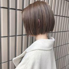 Korean Short Hair, Short Hair Cuts, Short Hair Styles, Pixie Hairstyles, Straight Hairstyles, Haircuts, Hair Color Highlights, Asian Hair, Haircut Short