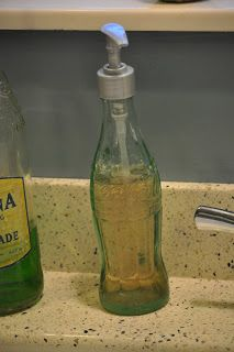 Keep Calm and Decorate: Coke Bottle Soap Dispenser