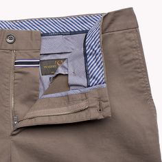 Tommy Hilfiger William-w Fitted Pant - 209 (Brown) - Tommy Hilfiger Trousers - detail image 3
