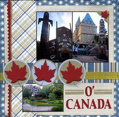 O' Canada - Scrapbook.com