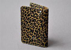 Porte-cartes léopard flock   Atelier St Loup